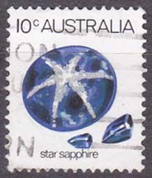 Austrálie - minerály, safír