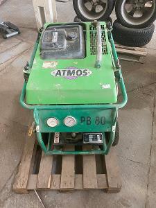 Benzínový Pojízdný Šroubový Kompresor Atmos PB80