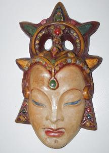 Stará keramická maska