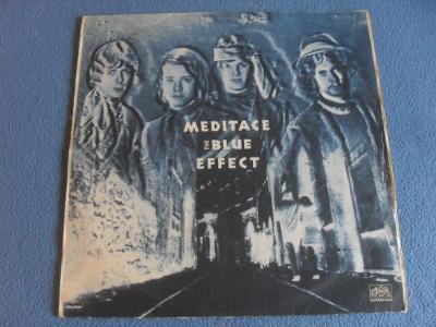 LP The Blue Effect - Meditace 1970 MONO
