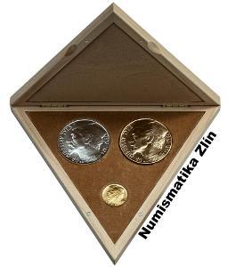 Sada medailí - 100. Výročí narození Miroslava Tyrše 1932 / 2020