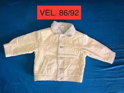 Dětská zimní bunda VEL. 86/92