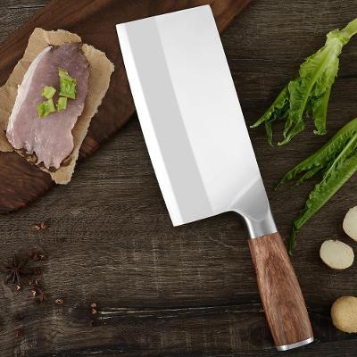 K12/ kuchynsky nůž. Rucnie kovany. Sekáček, palisandr