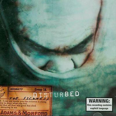 DISTURBED  – The Sickness CD