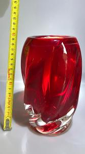 Skleněná váza