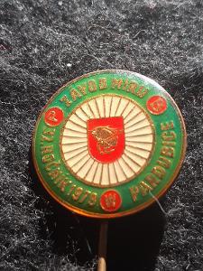Odznak 32.ročník Závod Míru 1979 Pardubice - cyklistika