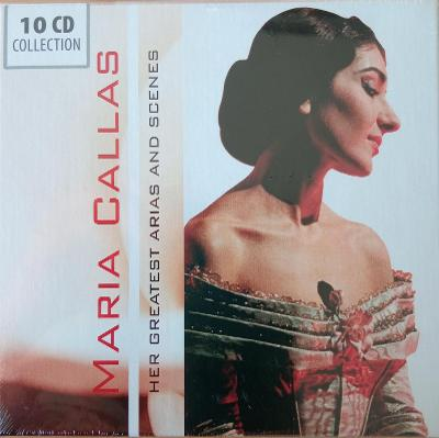 CALLAS MARIA Her Greatest Arias And Scen  10 CD BOX WALLET