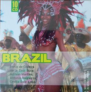 BRAZIL  Plinio de Oliveira,Adilson Martins 10 CD BOX WALLET
