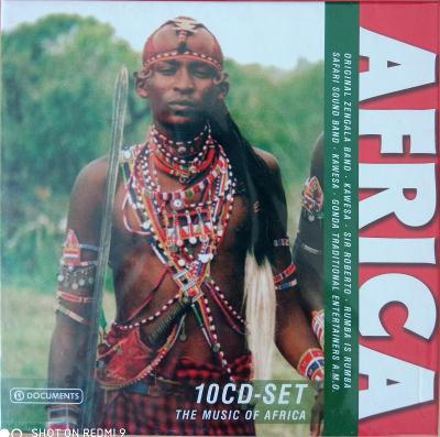 AFRICA The Music Of Africa 10 CD BOX WALLET