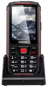 EVOLVEO StrongPhone Z4, vodotěsný odolný mobilní telefon, IPS display