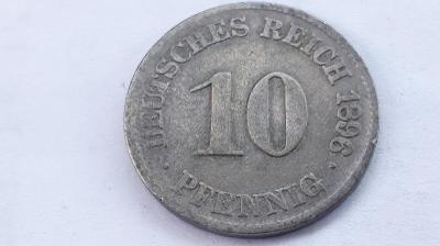10 Pfennig 1896 J