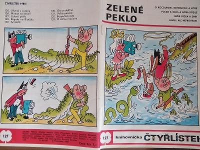 ČTYŘLÍSTEK ZELENÉ PEKLO 1985
