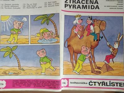 ČTYŘLÍSTEK ZTRACENÁ PYRAMIDA 1984