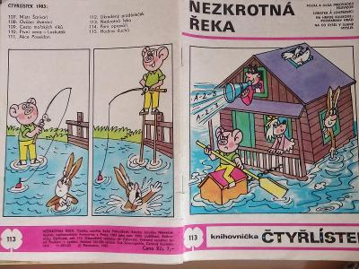 ČTYŘLÍSTEK NEZKROTNÁ ŘEKA 1983