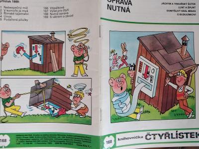 ČTYŘLÍSTEK OPRAVA NUTNÁ 1989