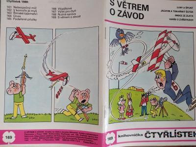 ČTYŘLÍSTEK S VĚTREM O ZÁVOD 1989