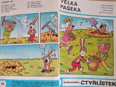 ČTYŘLÍSTEK VELKÁ PASEKA 1985