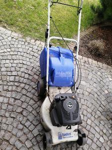Zahradní sekačka benzínová na opravu, náhradní díly OD KORUNY