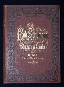 Staré noty - Robert Schumann Sämtliche Lieder