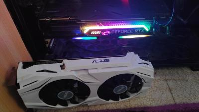 GTX 1060 6gb ASUS hází proužky přes obraz.