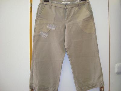 Edging 3/4  lněne Kalhoty vel 38