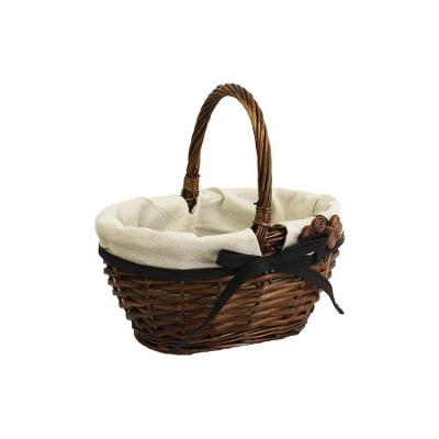 Košík hnědý malý