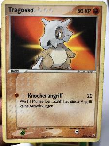 POKEMON CARD 33 TRAGOSSO 40/95 GERMAN,