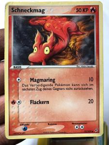 POKEMON CARD 35 SCHNECKMAG 75/107 GERMAN