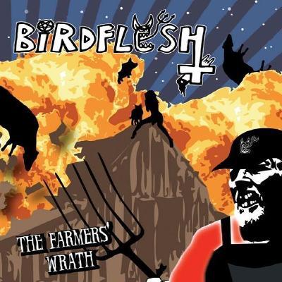 BIRDFLESH - The Farmers' Wrath - LP Zluty vinyl