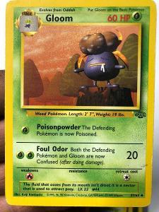 POKEMON CARD 50 GLOOM 37/64