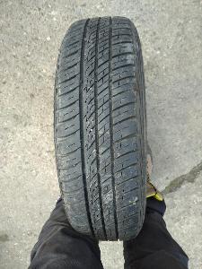 """íkové disky 13"""" včetně letních pneu, sada 4 kusy"""