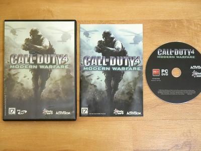 Call of Duty 4 Modern Warfare PC-DVD