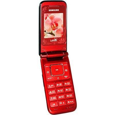 2x Véčko Samsung GT-E2530 LaFleur červené Od 1Kč