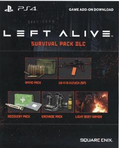 Left Alive / Survival Pack DLC [PlayStation 4]