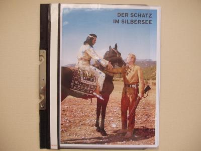 Vinnetou - komplet Eikon Album Německo film  P N S J    - více v textu