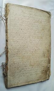 BIBLE RUKOPIS PRED ROKU 1800