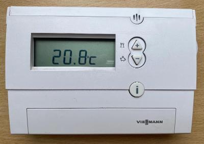Prostorový termostat Viessmann Vitrotrol 100 UDT