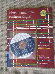 Jones Leo - New International Business English Student's Book s CD-ROM
