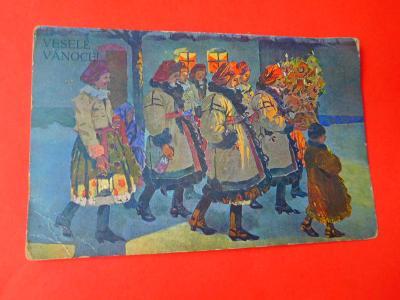 VESELÉ VÁNOCE J. FROLKA 1914