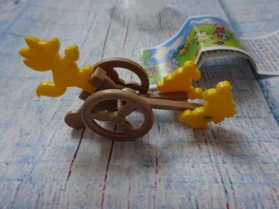 1Kč hračka z čoko vajíčka