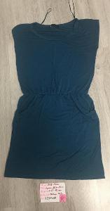 Zelené šaty s kapsami - M/38, zn: Reservet- Nové