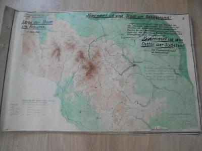 STARA MAPA KRNOVA,1941