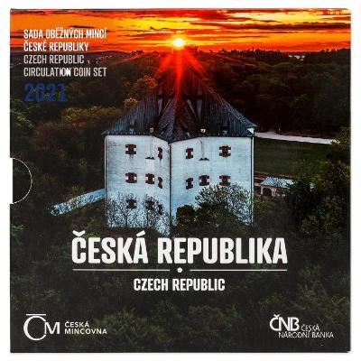 SADA  OBĚŽNÝCH MINCÍ 2021 ČESKÁ REPUBLIKA - NOVINKA - 5000ks VYPRODÁNO