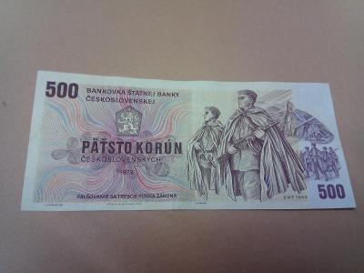 ČSR 500 korún 1973 ser.Z