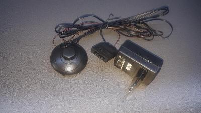 LED osvětlení na skleněnou polici - vypínač, trafo, rozdělovač