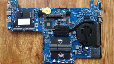 DELL Latitude E6220 chladič CPU + ventilátor