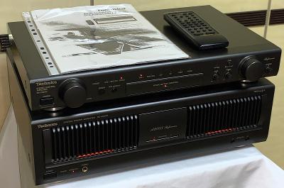 TECHNICS SU-C800U & SE-A800S/ Preamp+Amp+DO/ Class AA (Japan)