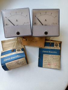 Ampérmetr ručičkový