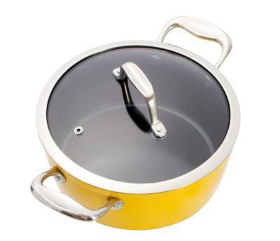 Bazar - hrnec Lamart K2295 YB 22cm žlutý