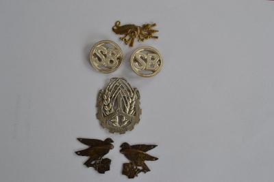 soubor čs. odznaků z první republiky